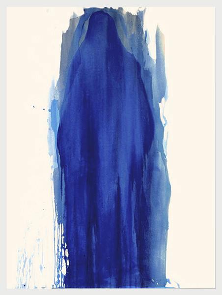 Visited I (2007)   (154cm x 122cm)   Acrylic / gloss on canvas.